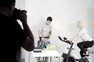 Energorower w naszym studio